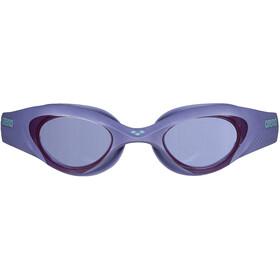 arena The One Gafas Natación Mujer, smoke/violet/turquoise
